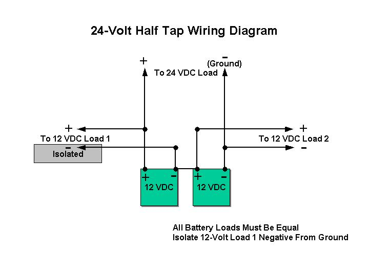 car and deep cycle battery frequently asked questions (faq) section 7 on 24 Volt Battery Charger Diagram for 24 vdc half tap wiring diagram at 24 Volt Starter Relay